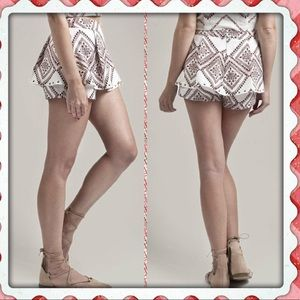 Moon River short with top skirt